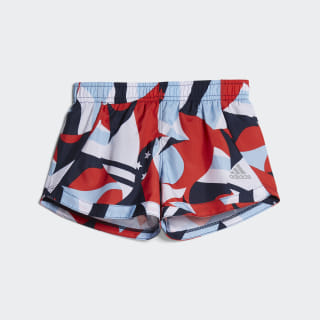 Printed Training Shorts Red CL1901