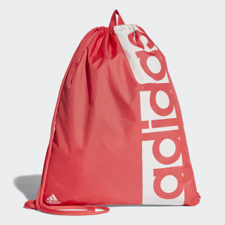 Bolsa Deportiva Linear Performance REAL CORAL S18/CHALK PEARL S18/CHALK PEARL S18 CF5016