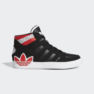 Hardcourt Hi Shoes Core Black / Cloud White / Core Black FV6984