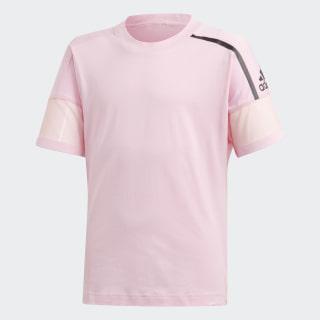 Polo YG ZNE TEE true pink / black DV0267