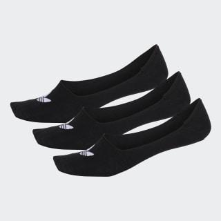Meias Low-Cut 3 Pares Black / Black / Black DW4132