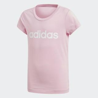 T-shirt Essentials Linear True Pink / White DV0363