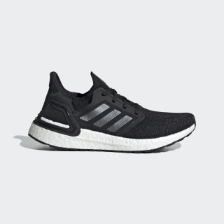 Ultraboost 20 Ayakkabı Core Black / Night Metallic / Cloud White EG0714