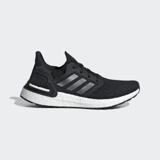 รองเท้า Ultraboost 20 Core Black / Night Metallic / Cloud White EG0714