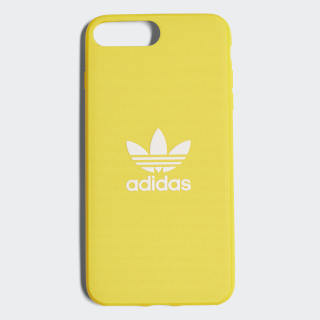 Coque emboîtable Adicolor iPhone 8+ Yellow / White CJ6186