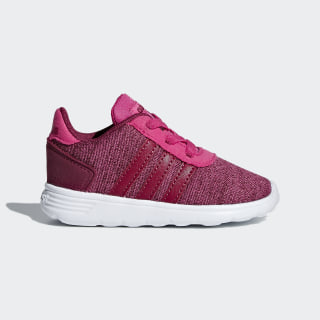 Zapatillas Lite Racer Real Magenta / Mystery Ruby / Cloud White B76000