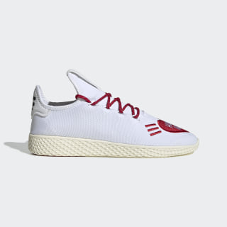 Pharrell Williams Tennis Hu Human Made Shoes Cloud White / Scarlet / Cream White EF2392
