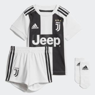 Juventus Turin Mini-Heimausrüstung White / Black CF3492