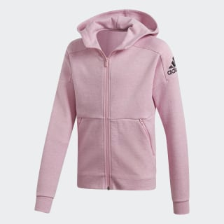 Chaqueta con Capucha ID Stadium True Pink / Grey Six / Black DV0298