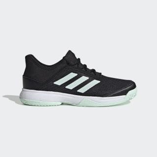 Adizero Club Schoenen Core Black / Dash Green / Cloud White EH1106