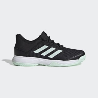 Adizero Club Schuh Core Black / Dash Green / Cloud White EH1106