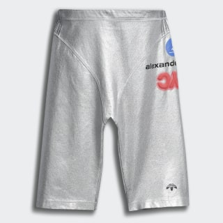 Short adidas Originals by AW Silver Silver Metallic FI6965