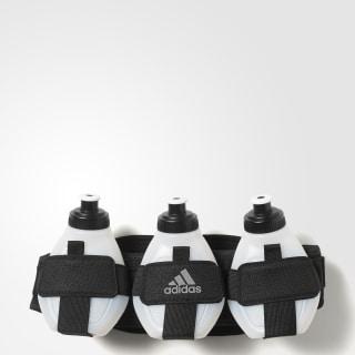 Cinturón Run Bottle 3 Black / Light Grey / Silver Metallic AC1258