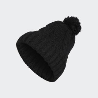 Gorro Solid Pompon Black CZ0224