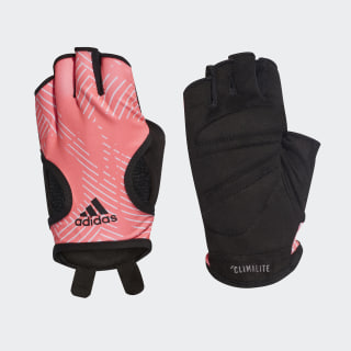 Graphic Climalite Gloves Shock Red / Raw White / Black DT7951