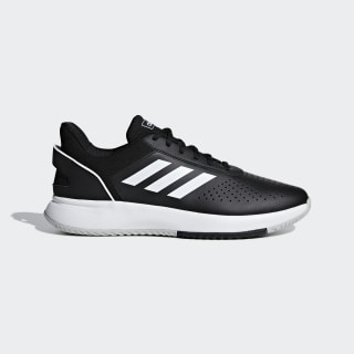 Кроссовки для тенниса Courtsmash Core Black / Cloud White / Grey Two F36717