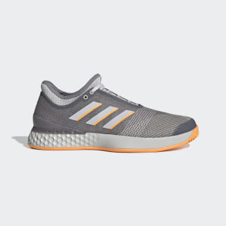 Кроссовки для тенниса adizero Ubersonic 3 grey three f17 / grey one f17 / flash orange EF1153