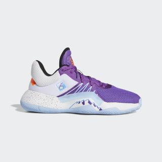 D.O.N. Issue #1 Shoes Active Purple / Cloud White / Glow Blue EG5666