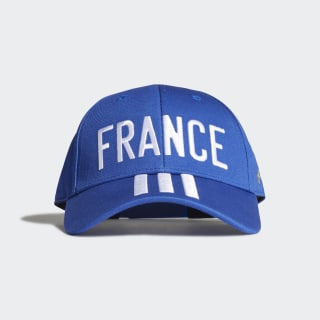Бейсболка Франция Team Royal Blue / White / Gold Metallic FJ1002