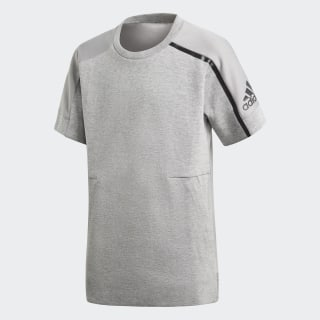adidas Z.N.E. T-Shirt Medium Grey Heather / Mgh Solid Grey CF6473