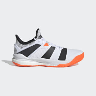 Stabil X Shoes Cloud White / Core Black / Solar Orange F33828