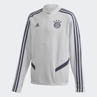 FC Bayern Training Top Lgh Solid Grey / Trace Blue EJ0961