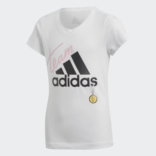 Camiseta ID Graphic White / Black DV0284