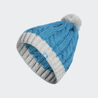 Two-Tone Pompon Beanie Active Teal DZ6583