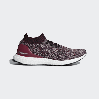 Ultraboost Uncaged Shoes Grey / Noble Red / Mystery Ruby DA9596