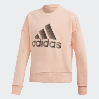 ID Glam Crew Sweatshirt Glow Pink ED4653