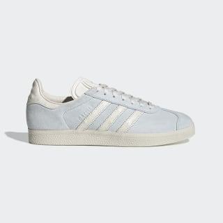 Кроссовки Gazelle blue tint s18 / chalk white / chalk white EE5547