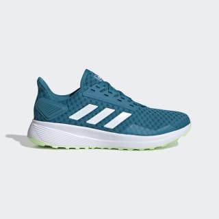 Zapatillas para correr Duramo 9 Active Teal / Cloud White / Glow Green EE8041