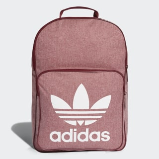 Trefoil Casual Backpack Collegiate Burgundy / White D98924