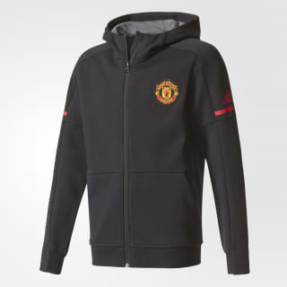 Куртка Манчестер Юнайтед Home Anthem Squad black BQ2240