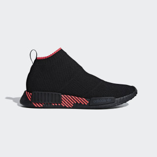 NMD_CS1 Primeknit Shoes Core Black / Core Black / Shock Red G27354