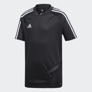 Tiro 19 Training Voetbalshirt Black / White DT5294