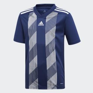 Striped 19 Voetbalshirt Dark Blue / White DU4397