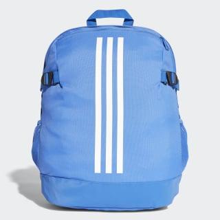3-Stripes Power Backpack Medium Hi-Res Blue/Hi-Res Blue/White CG0494