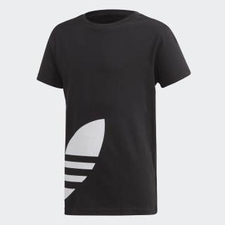 Big Trefoil Tee Black / White FM5641