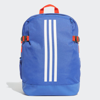 Sac à dos 3-Stripes Power moyen format Bold Blue / Bold Blue / White DY1970