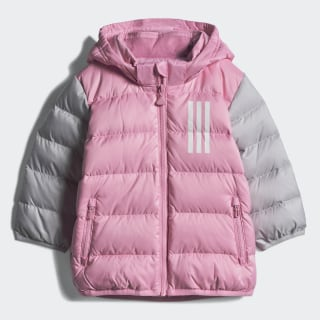 Пуховик light pink / lgh solid grey EH4131