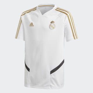 Camiseta entrenamiento Real Madrid White / Dark Football Gold DX7851