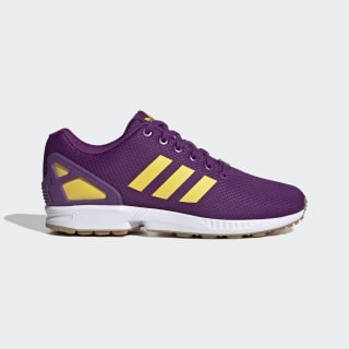 ZX Flux Schuh Glory Purple / Spring Yellow / Cloud White EG5408