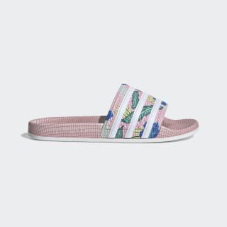 Adilette Slides True Pink / True Pink / Cloud White FW5034