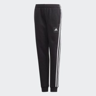 Calças 3-Stripes Must Haves Black / White FM7598