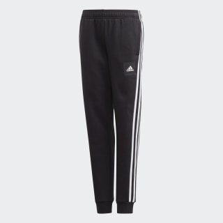 Must Haves 3-Stripes Pants Black / White FM7598