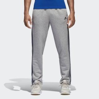 Essentials 3-Stripes Fleece Pants Medium Grey Heather / Collegiate Navy B47211