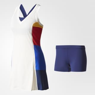Платье для тенниса New York Colorblock chalk white BP5227