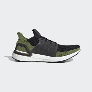 Ultraboost 19 Shoes Core Black / Core Black / Tech Olive G27511