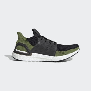 Zapatilla Ultraboost 19 Core Black / Core Black / Tech Olive G27511